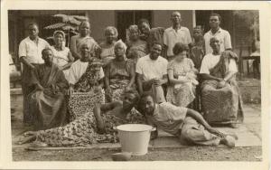 Ana Livia Cordero at Accra Cuban Embassy, 1964, Source: https://www.radcliffe.harvard.edu/schlesinger-library/collections/ana-livia-cordero